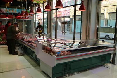 必威主页哪里安装直冷鲜肉柜